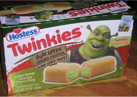 Shrek and Twinkies