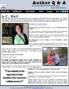 Q & A with Author AC Hall