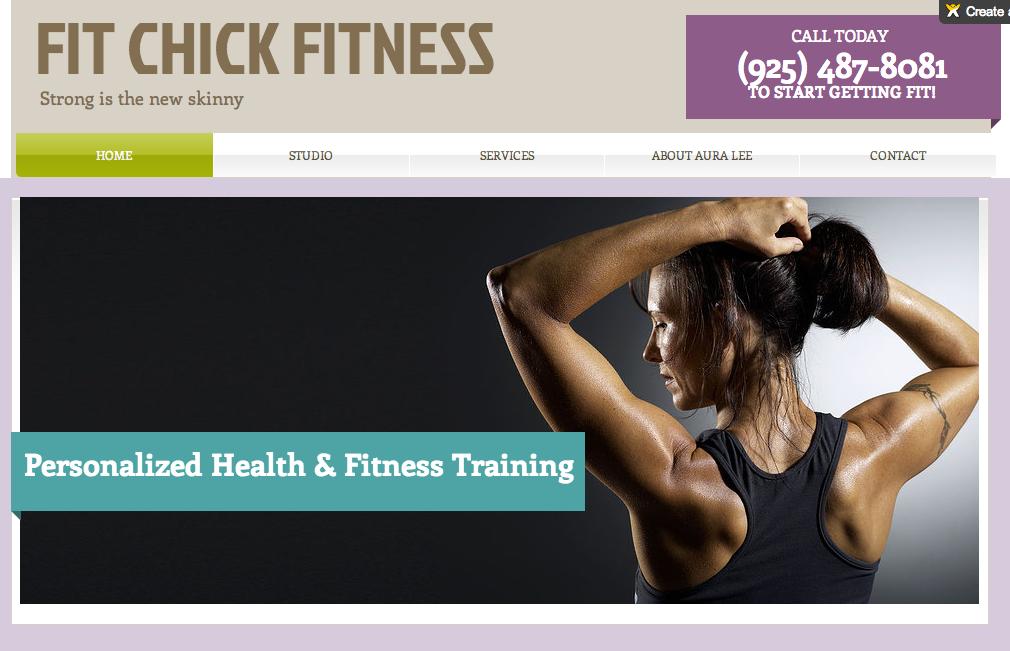 FitChickFitness website_after