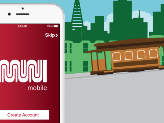 MuniMobile mobile ticketing screenshot